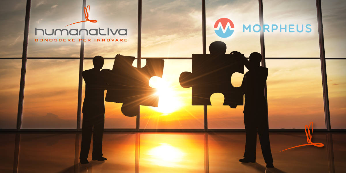 Humanativa Group partnership con Morpheus Data